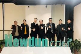 兰溪市委常委、副市长孙涛等一行领导莅临牛盾网络参观考察