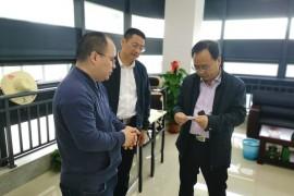 衢州市国资委主任吴自力等领导到浙江牛盾项目部指导工作