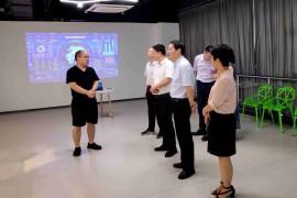 衢州学院校长谢志远、副校长徐须实到公司考察
