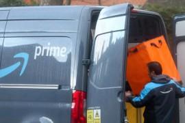 """亚马逊送货司机被迫签署""""生物识别同意书"""",否则将失业"""